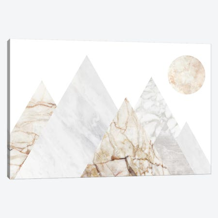 Peak Landscape III Canvas Print #MBL31} by Marble Art Co Canvas Art