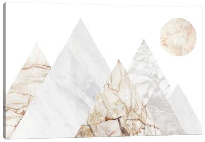 Peak Landscape III Canvas Art Print