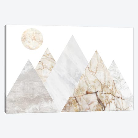 Peak Landscape V Canvas Print #MBL32} by Marble Art Co Canvas Wall Art