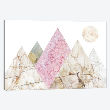 Peak Landscape VI Canvas Print #MBL33} by Marble Art Co Canvas Wall Art