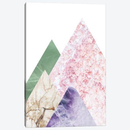 Peak I Canvas Print #MBL34} by Marble Art Co Canvas Art Print