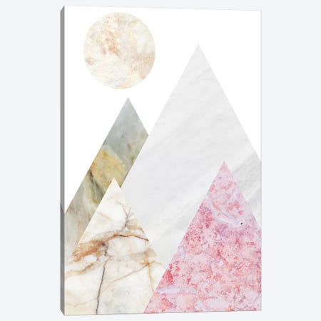 Peak IV 3-Piece Canvas #MBL37} by Marble Art Co Canvas Print