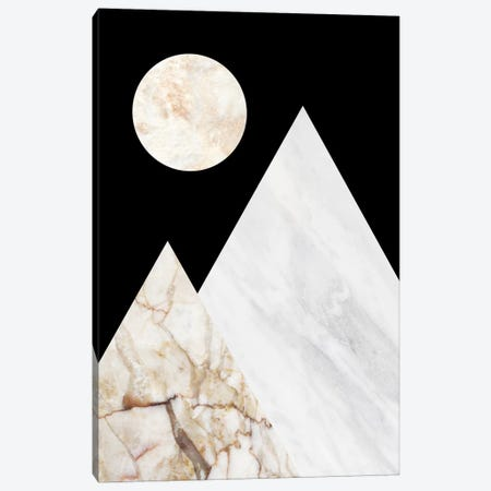 Peak V Canvas Print #MBL38} by Marble Art Co Canvas Wall Art