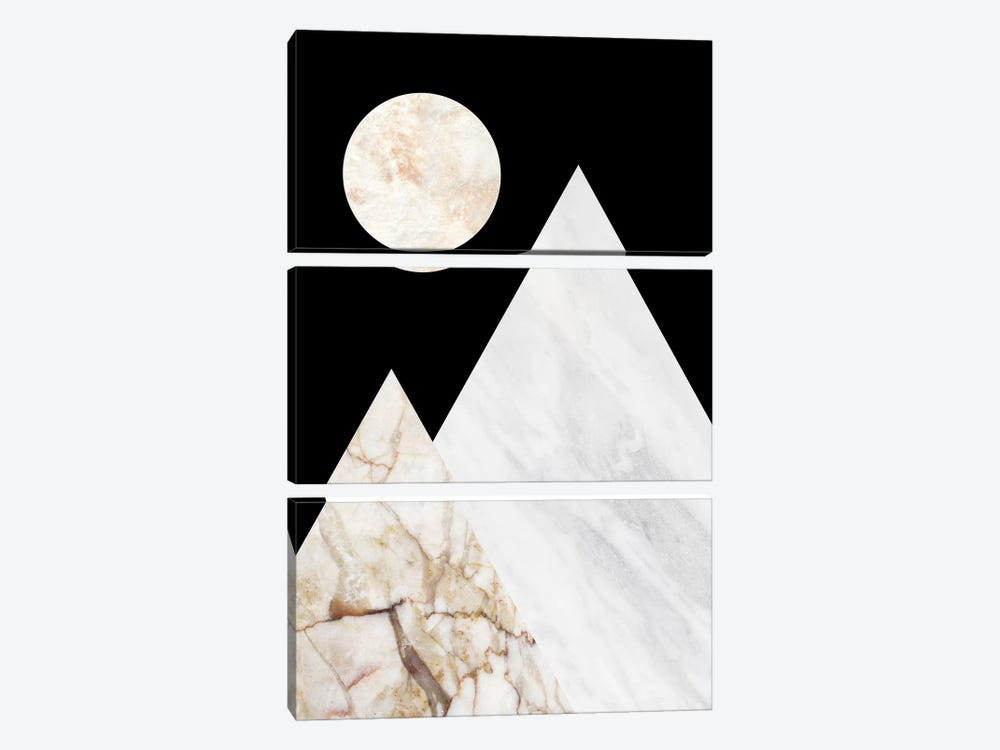 Peak V by Marble Art Co 3-piece Canvas Art