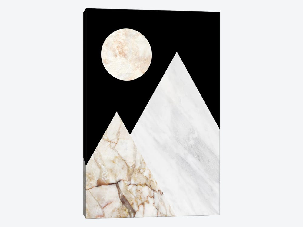 Peak V by Marble Art Co 1-piece Canvas Artwork