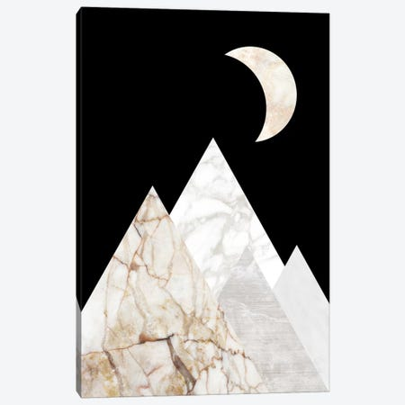 Peak VI Canvas Print #MBL39} by Marble Art Co Canvas Artwork