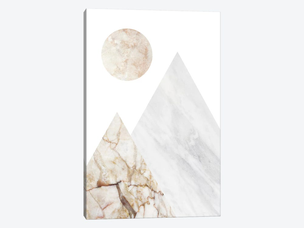 Peak VII by Marble Art Co 1-piece Canvas Print