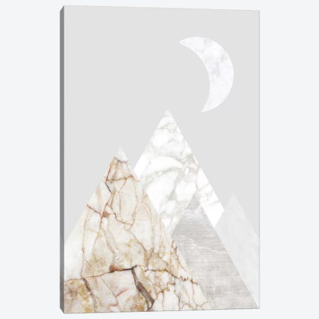 Peak VIII Canvas Print #MBL41} by Marble Art Co Art Print