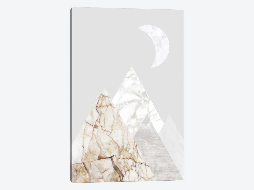 Peak VIII by Marble Art Co 1-piece Canvas Wall Art