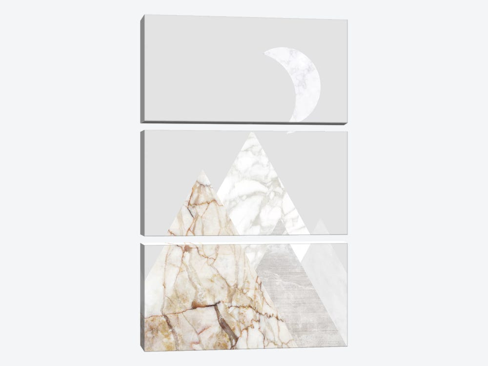Peak VIII 3-piece Canvas Artwork
