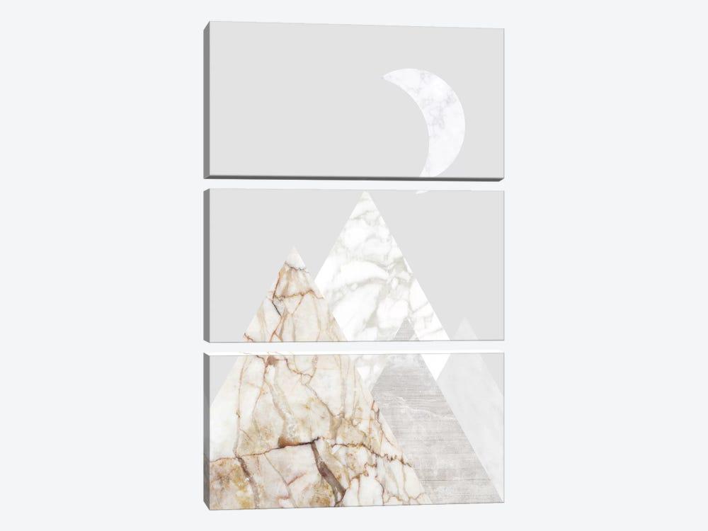 Peak VIII by Marble Art Co 3-piece Canvas Artwork
