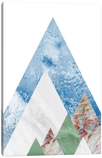 Peak X Canvas Art Print