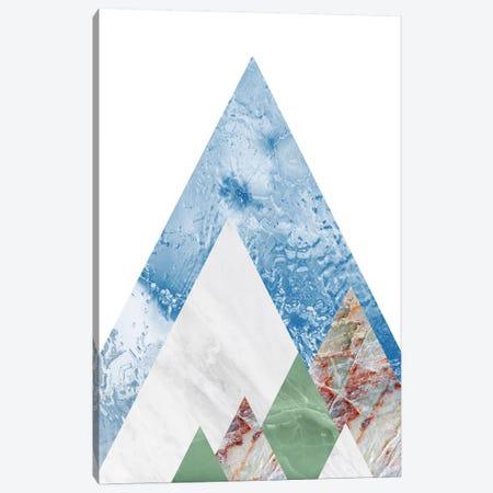 Peak X Canvas Print #MBL43} by Marble Art Co Canvas Art Print
