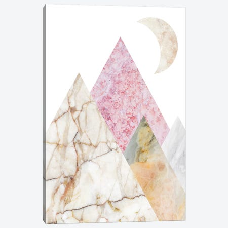 Peak XI Canvas Print #MBL44} by Marble Art Co Canvas Art