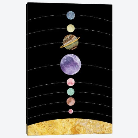 Space I Canvas Print #MBL45} by Marble Art Co Canvas Wall Art