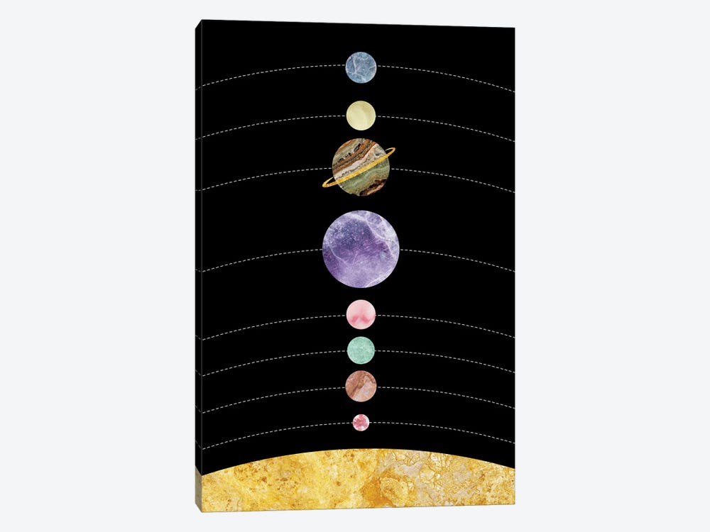 Space I by Marble Art Co 1-piece Canvas Art