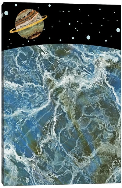 Space II Canvas Art Print