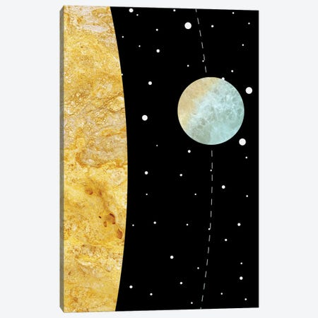 Space III 3-Piece Canvas #MBL47} by Marble Art Co Canvas Artwork