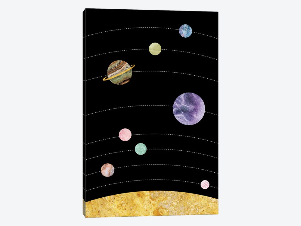 Space IV by Marble Art Co 1-piece Canvas Art Print