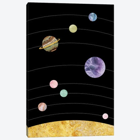 Space IV 3-Piece Canvas #MBL48} by Marble Art Co Art Print