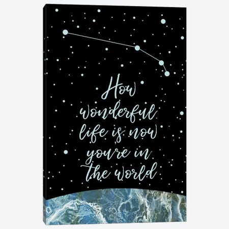 Constellation (Aries) Canvas Print #MBL4} by Marble Art Co Canvas Print