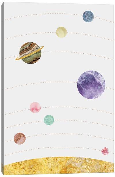 Space X Canvas Art Print