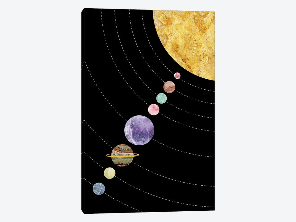 Space XVII by Marble Art Co 1-piece Art Print