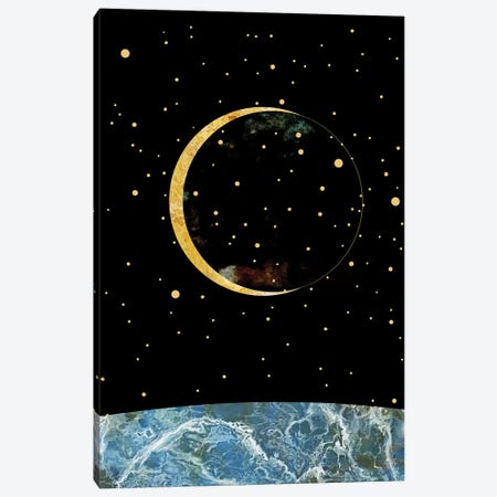 Space XIX Canvas Print #MBL55} by Marble Art Co Art Print