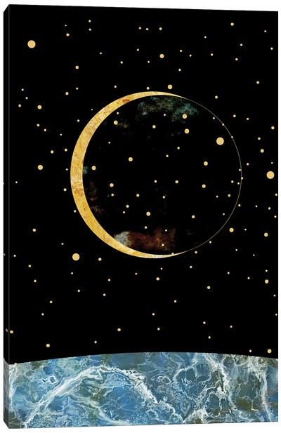 Space XIX Canvas Art Print