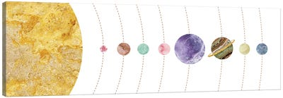 Space XXII Canvas Art Print