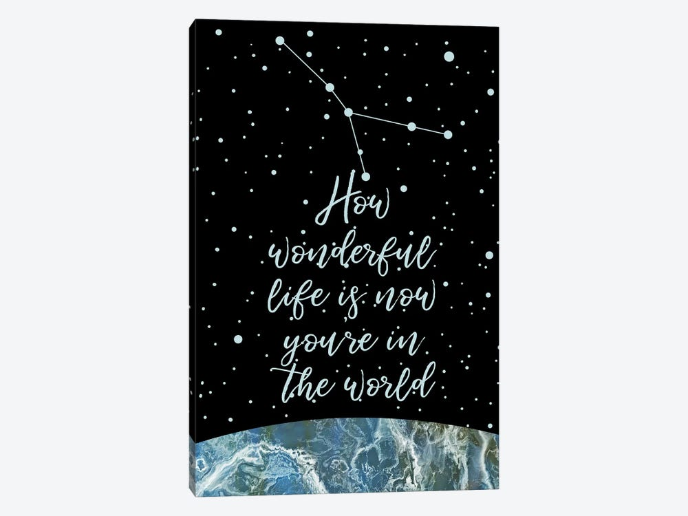 Constellation (Cancer) by Marble Art Co 1-piece Canvas Artwork