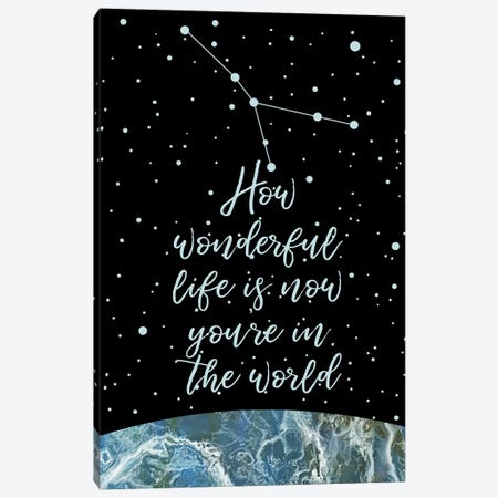 Constellation (Cancer) 3-Piece Canvas #MBL5} by Marble Art Co Art Print