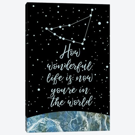 Constellation (Capricorn) 3-Piece Canvas #MBL6} by Marble Art Co Canvas Print