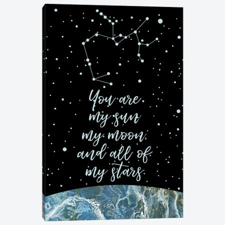 Zodiac (Sagittarius) Canvas Print #MBL72} by Marble Art Co Canvas Art