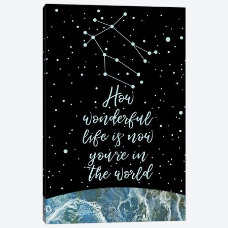 Constellation (Gemini) Canvas Print #MBL7} by Marble Art Co Canvas Print