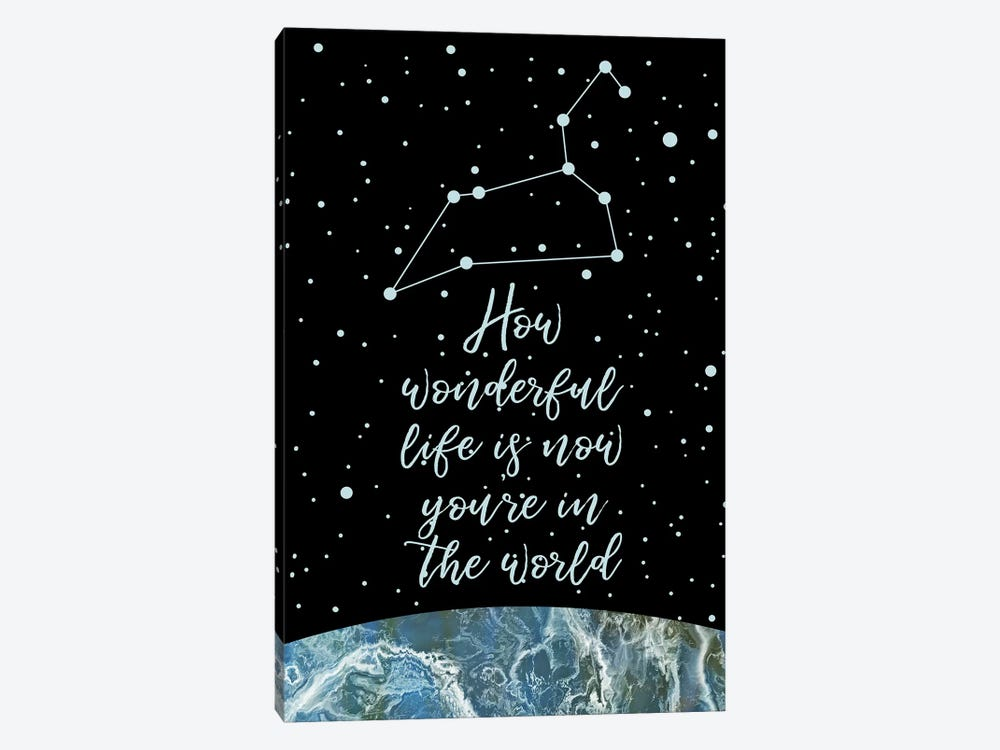 Constellation (Leo) by Marble Art Co 1-piece Canvas Print