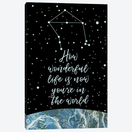 Constellation (Libra) Canvas Print #MBL9} by Marble Art Co Canvas Art