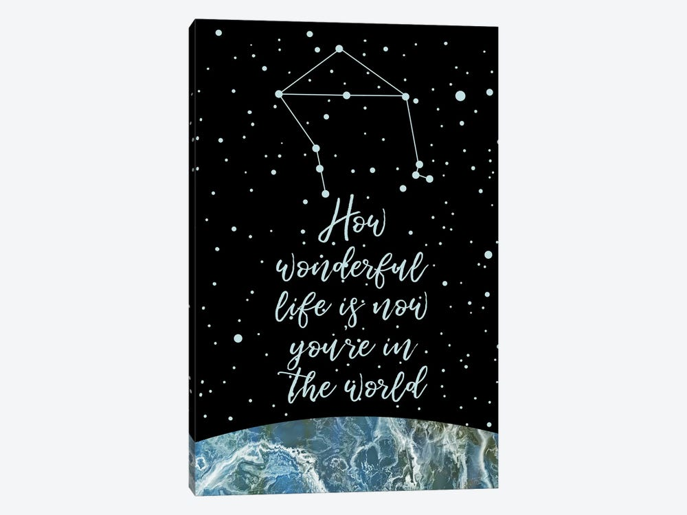 Constellation (Libra) by Marble Art Co 1-piece Canvas Art