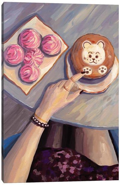 Hello, Coffee Canvas Art Print
