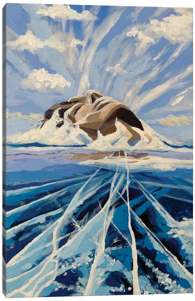 Young Baikal Canvas Art Print