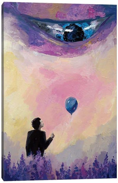 Please, Can I Have A Ballon? Canvas Art Print