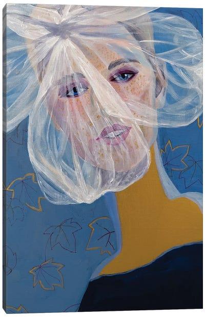 Portrait Of Tatiana Canvas Art Print