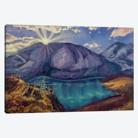 The Last Rays Of The Sun Canvas Print #MBN4} by Marina Beresneva Canvas Print