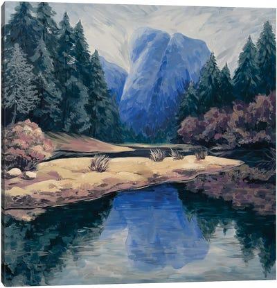 Mountain Range Canvas Art Print