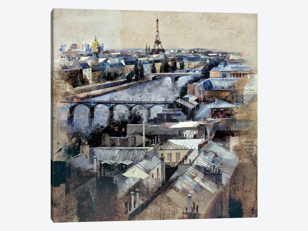 Paris by Marti Bofarull 1-piece Canvas Print