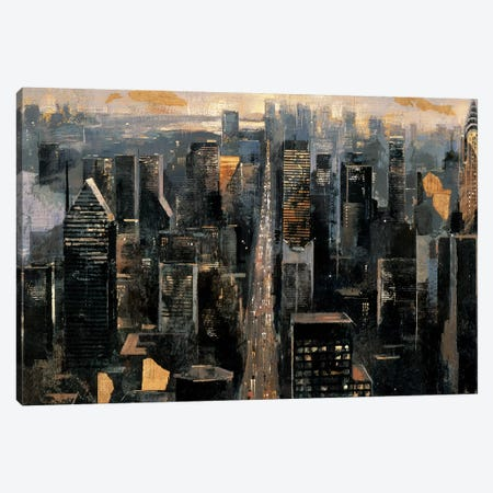 Central Avenue Canvas Print #MBO2} by Marti Bofarull Art Print