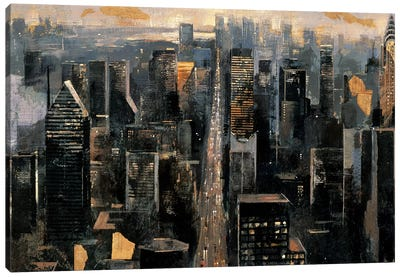 Central Avenue Canvas Art Print