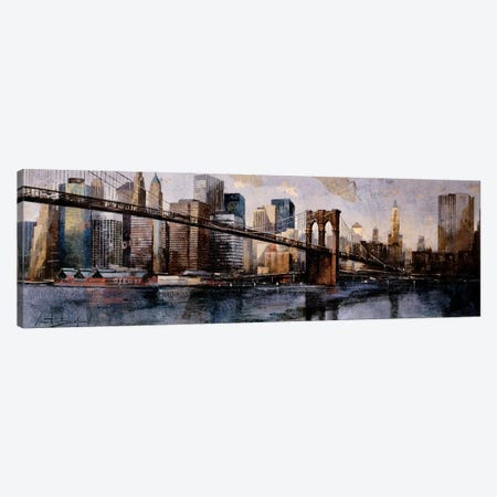 Going To The City 3-Piece Canvas #MBO3} by Marti Bofarull Canvas Art Print