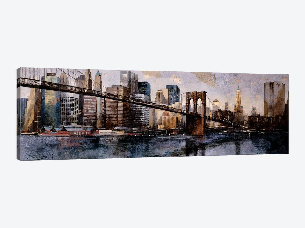 Going To The City by Marti Bofarull 1-piece Canvas Print