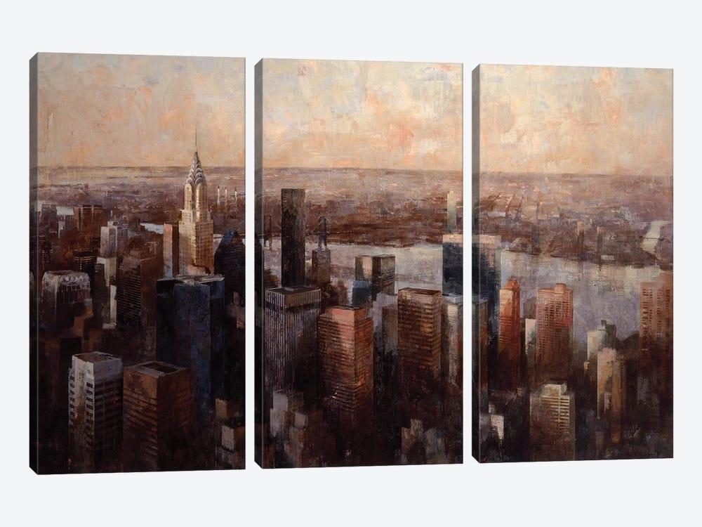 Meet Me At… by Marti Bofarull 3-piece Canvas Wall Art